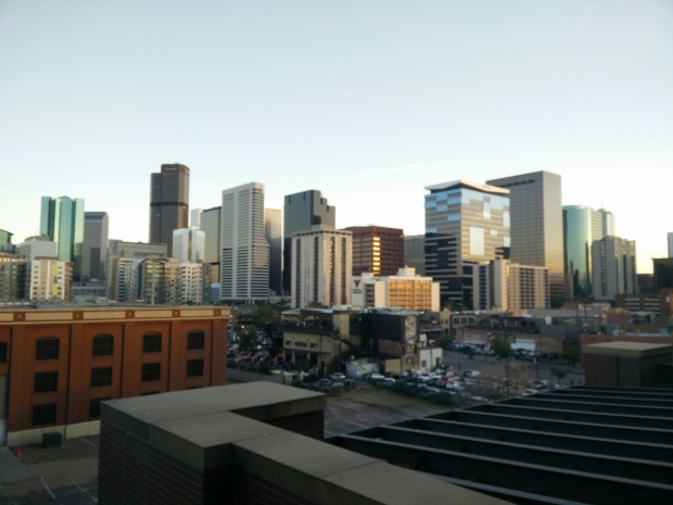 View of Denver from the Stadium.
